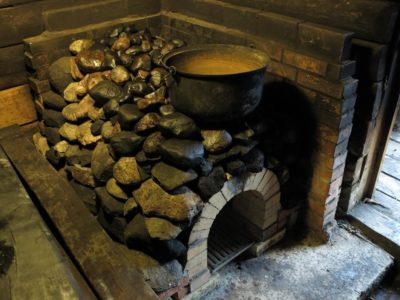 Hino talu suitsusauna kerise rekonstrueerimine