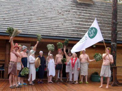 Smoke sauna culture